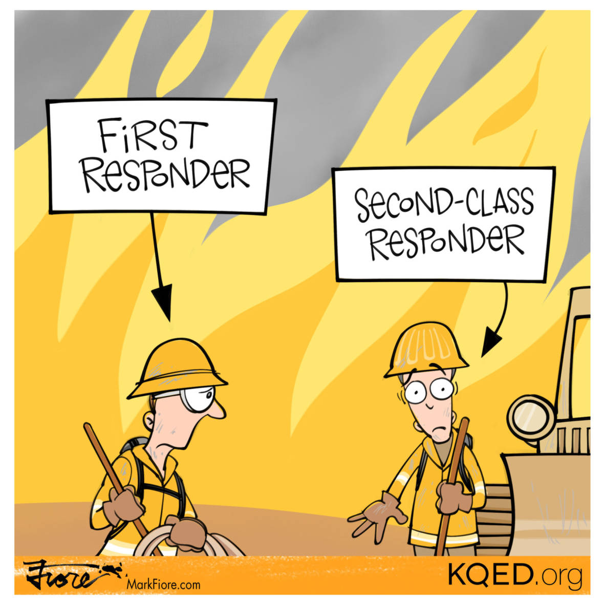 Same Fire, Different Protections