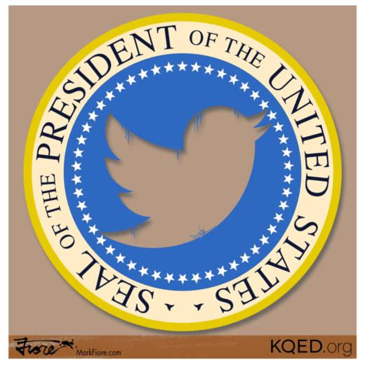 Twitter Prez by Mark Fiore