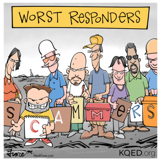 Worst Responders by Mark Fiore