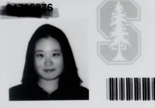 Seo-Young Chu's 1999 Stanford ID.