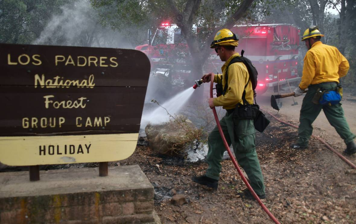 Thomas Fire Grows Slightly Overnight; Now at 15 Percent Containment