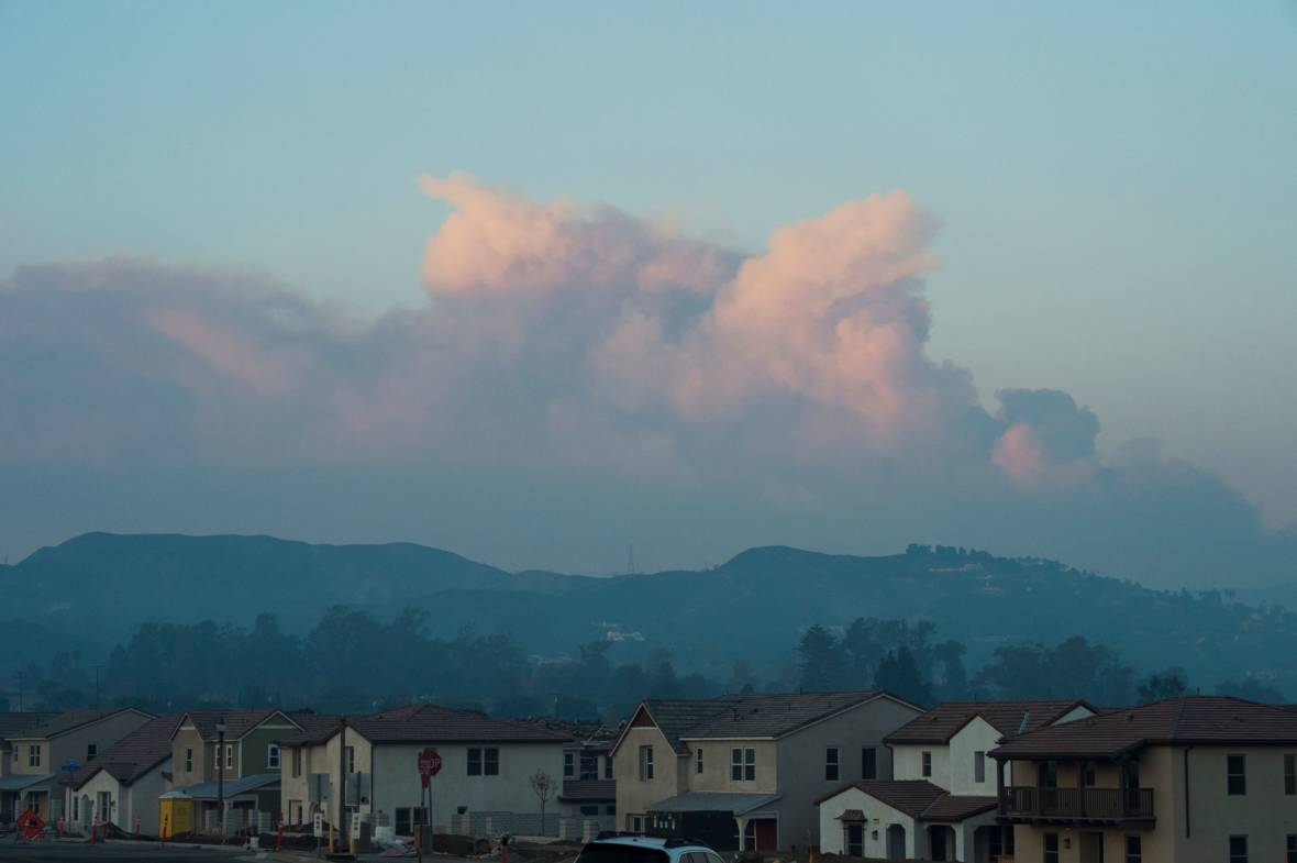 Crews Gain on Huge California Fire But Wind Threat Remains