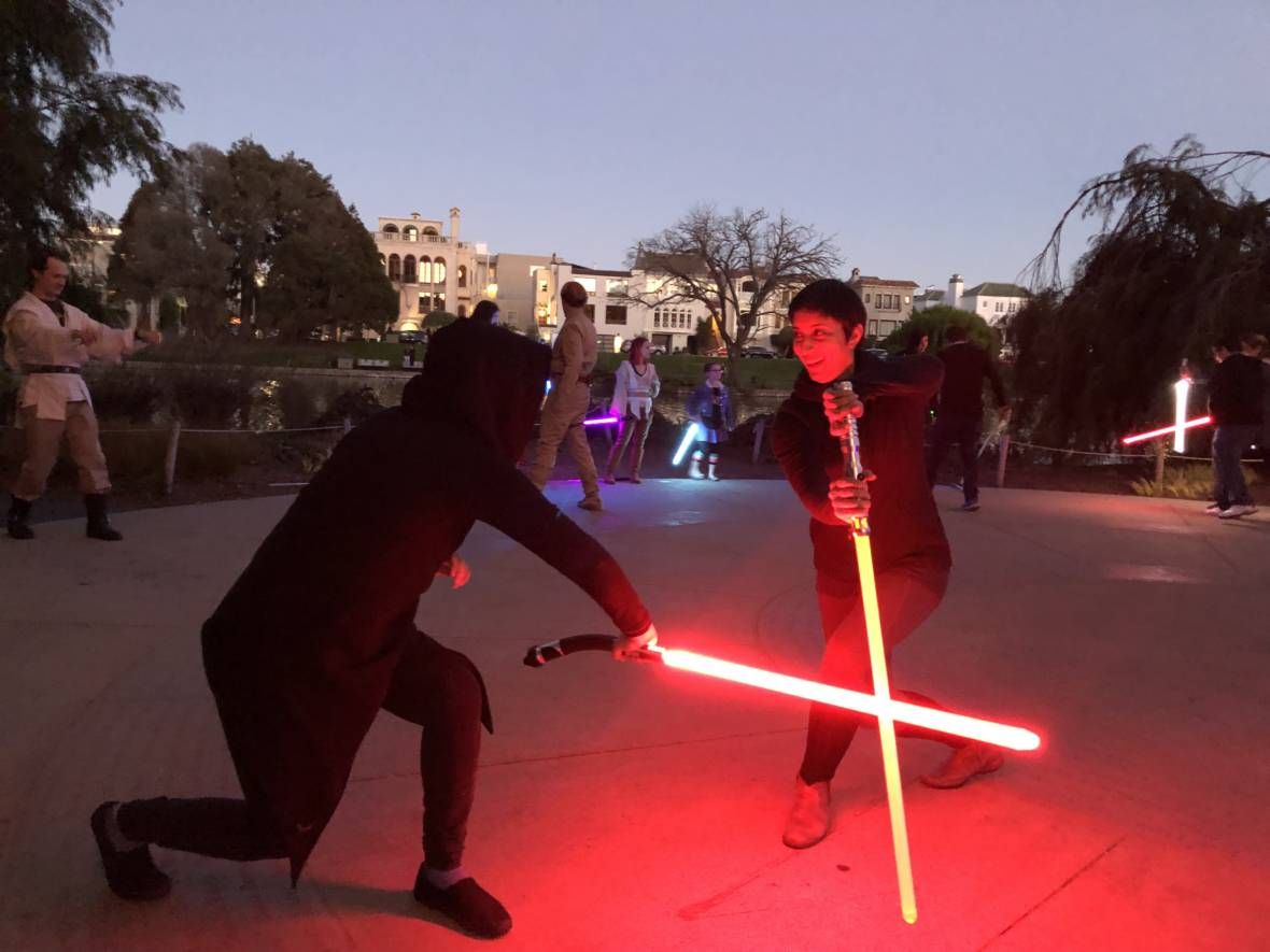 From Fitness to Fencing: Fans Learn How to Fight Star Wars Style