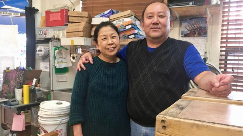 Chester and Amy Nozaki of the San Jose Tofu Company are feeling ready to retire.