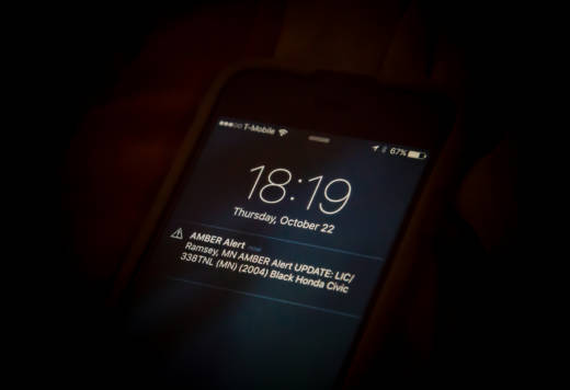 Amber Alerts are an example of a Wireless Emergency Alert.