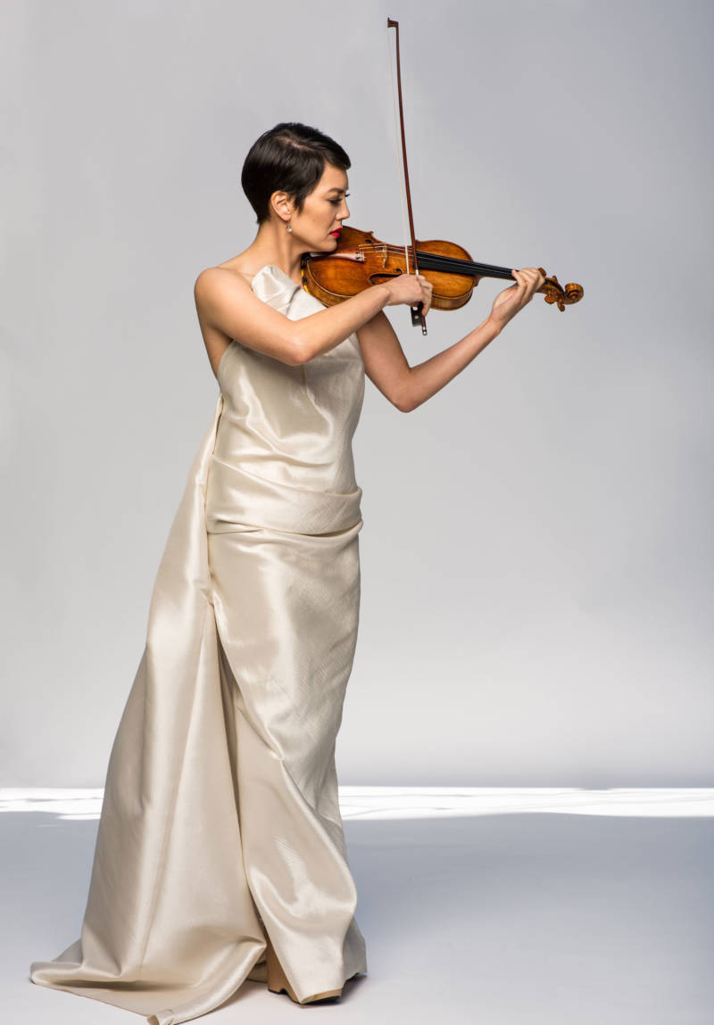 Violinist Anne Akiko Meyers commissioned Adam Schoenberg's first violin concerto.
