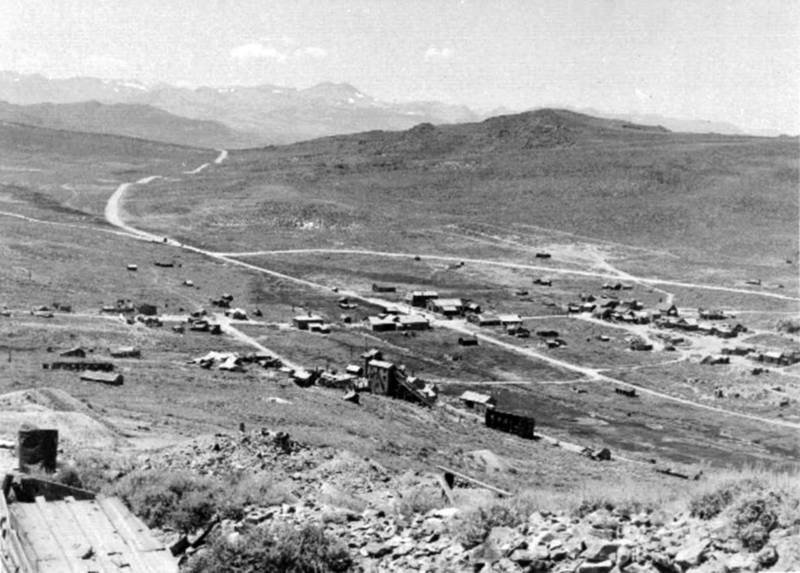 A view of Bodie in 1880.