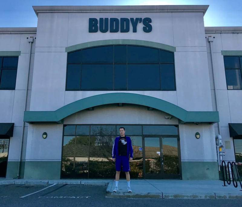 Buddy's Cannabis owner Matt Lucero was a practicing attorney before he opened the marijuana dispensary.