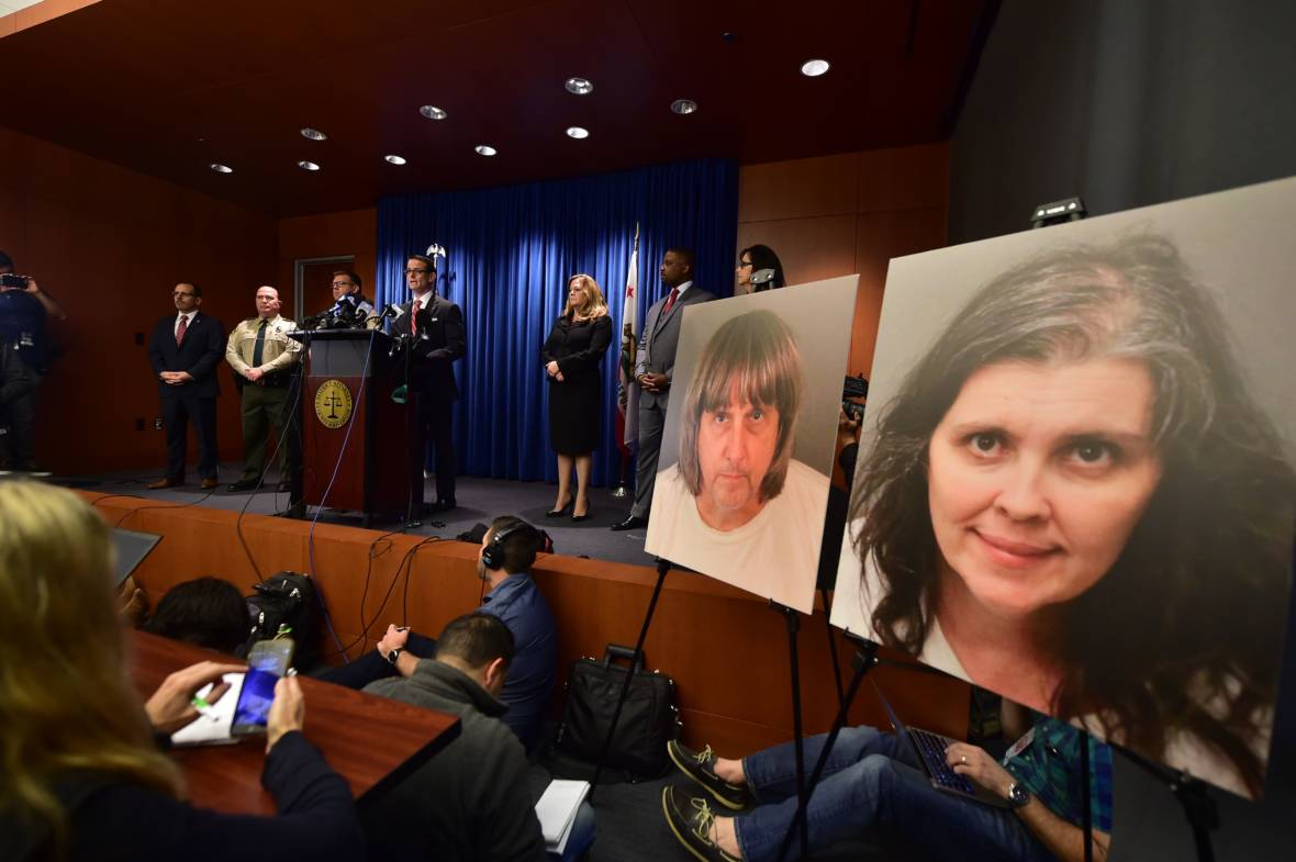 Parents of Captive Children Charged With Years of Torture and Abuse