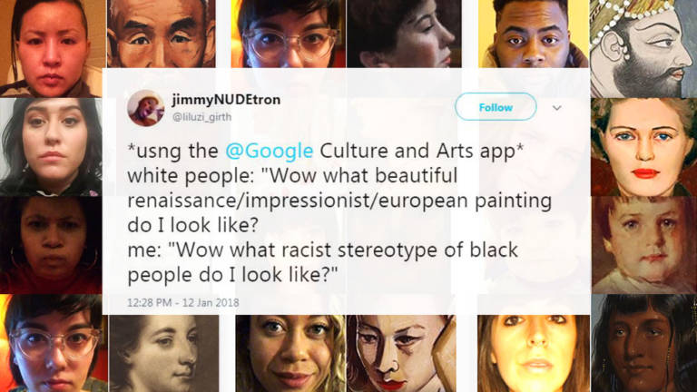 The google selfie feature on the Google Arts and Culture app has been less enjoyable for many people of color.