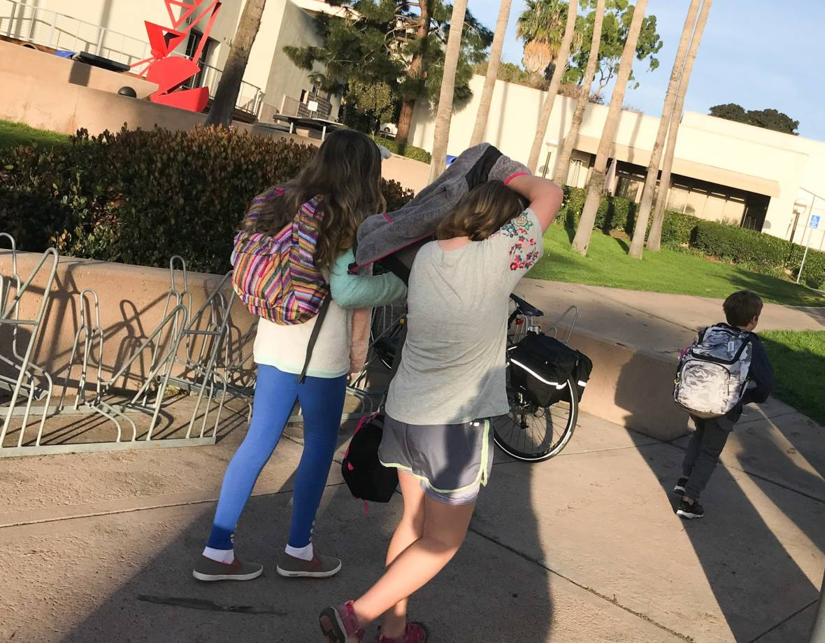 College Campus Welcomes Evacuated Montecito Elementary Students
