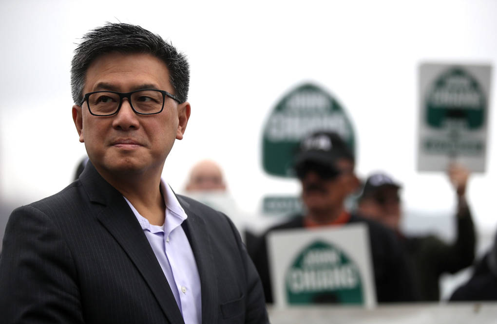 California Treasurer John Chiang announced he and the state attorney general's office will study the feasibility of creating a public bank for the marijuana industry.