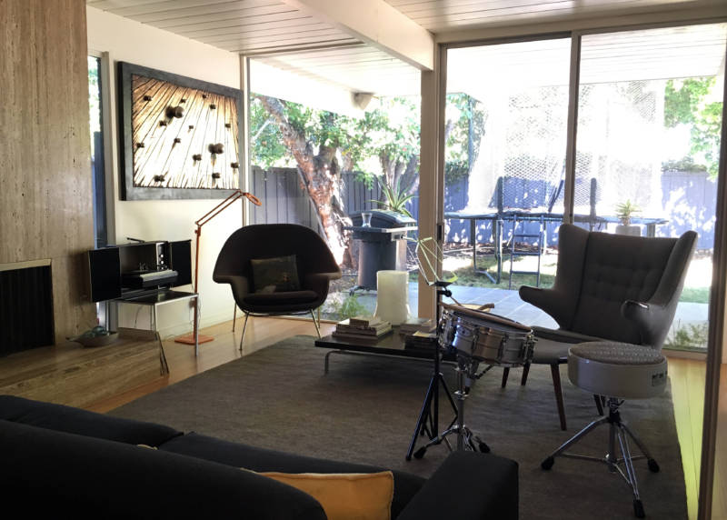 """Eichler homes makes the most of """"indoor/outdoor living."""""""