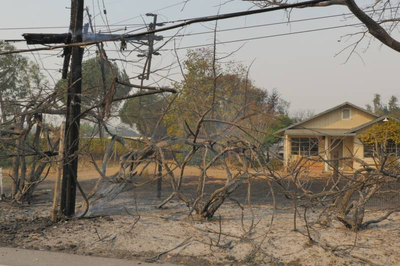 PG&E Equipment Seized in Probe Was Near Suspected Origins of October Fires