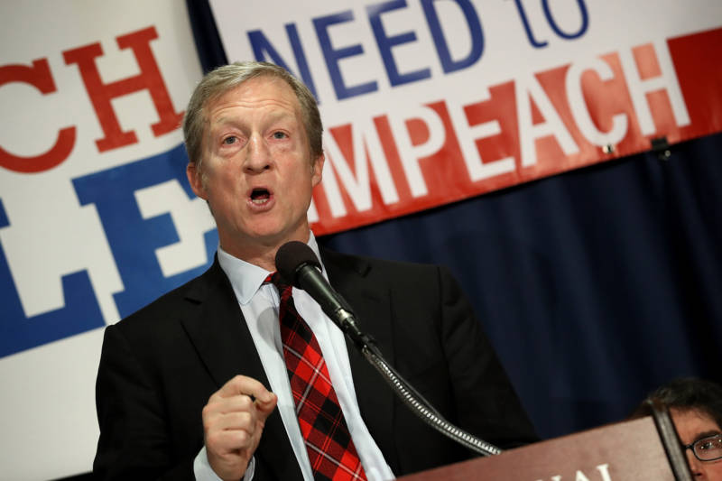 Billionaire Democrat Tom Steyer: We're Hand-Delivering New Anti-Trump Book to All of Congress