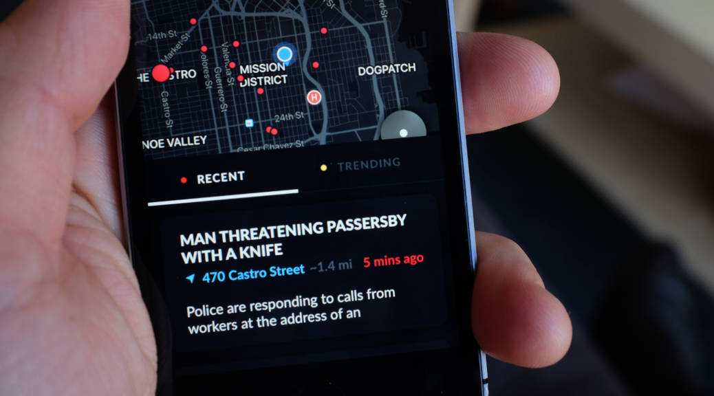 This App Tracks Crime, Emergencies Near You  But What About Privacy