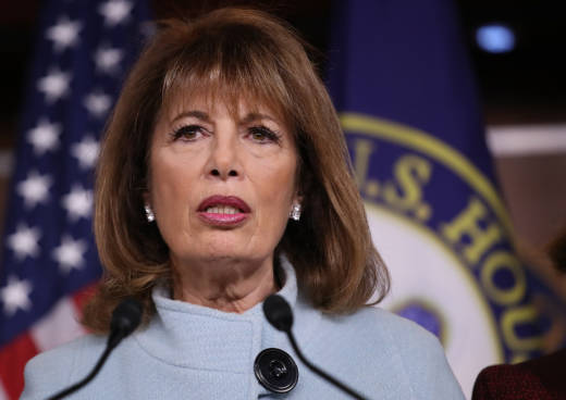 Rep. Jackie Speier speaks at a press conference on sexual harassment in Congress on November 15, 2017 in Washington, DC. New legislation pushed by Speier to reform how sexual harassment claims are handled in Congress is expected to be voted on this week.