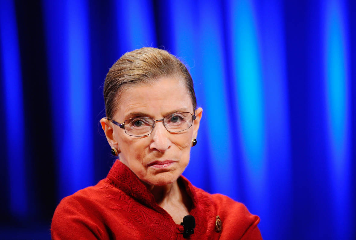 Justice Ginsburg Signals Her Intent to Work for Years More