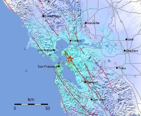 Rude Awakening: Moderate Quake Rattles East Bay Overnight