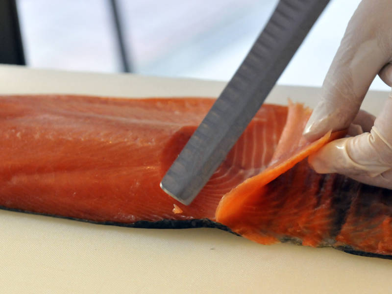 The Centers for Disease Control and Prevention published a 2017 report that found wild-caught salmon caught off the coast of Alaska may contain a Japanese tapeworm, rarely seen in the U.S.