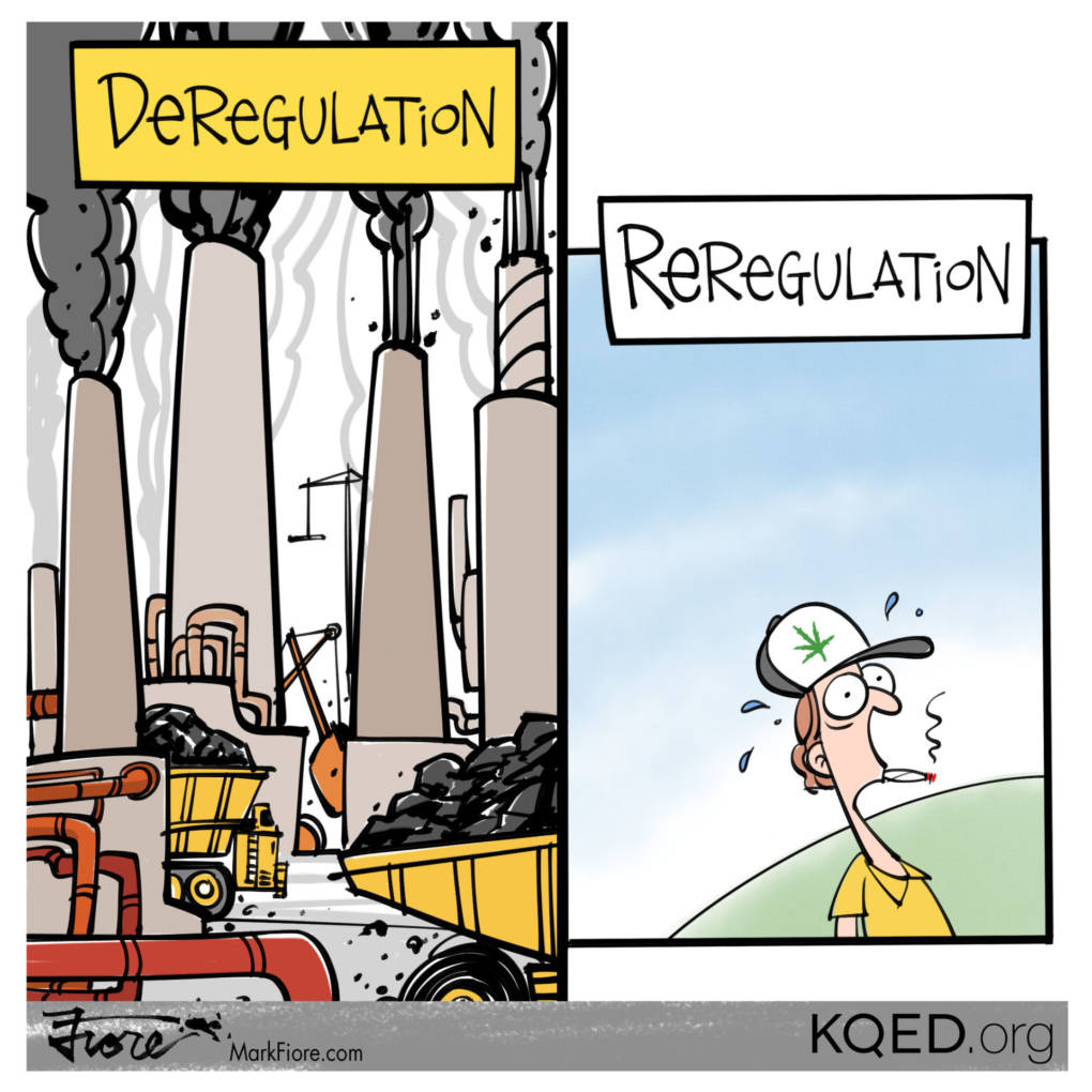 Reregulation by Mark Fiore