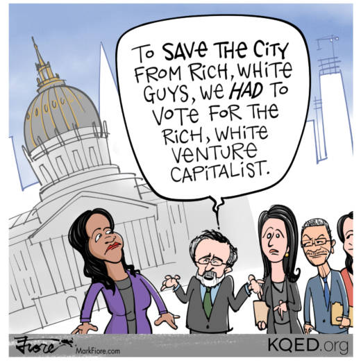 Mayoral Switcheroo by Mark Fiore