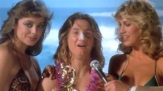 """Spicoli, the iconic California surfer bro, from """"Fast Times At Ridgemont High."""""""