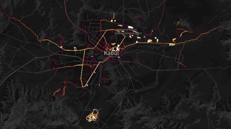 Fitness data collected by the Strava exercise tracking company shows movements of personnel at U.S. and allied bases in Afghanistan and elsewhere, analysts say.