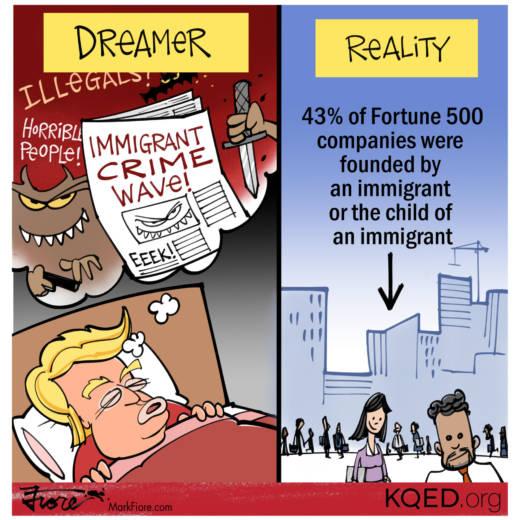 Dreamer-in-Chief by Mark Fiore