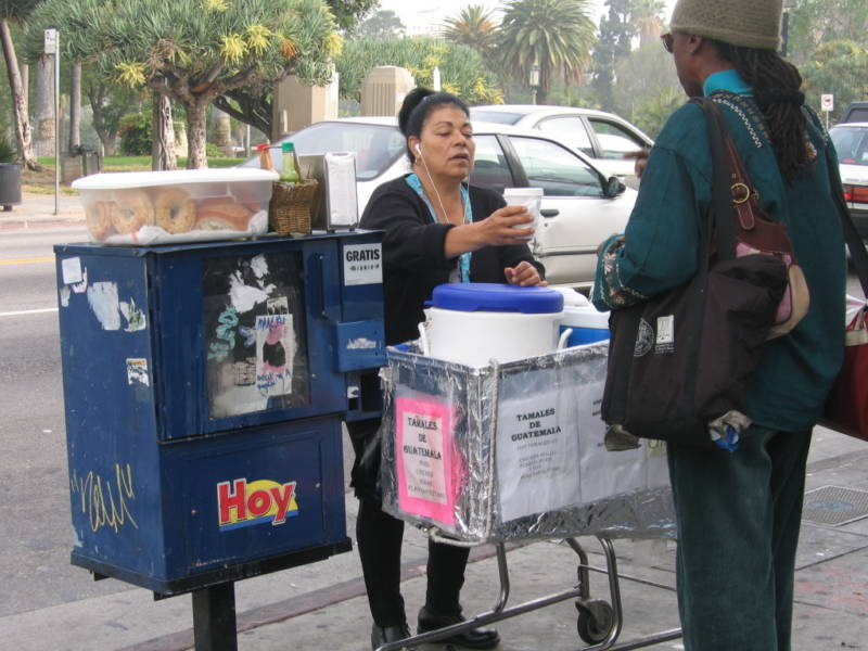 While L.A. Officials Weigh Legal Street Vending, State Bill Would Move it Ahead