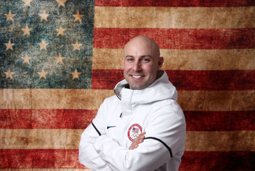 United States Bobsled team member Nick Cunningham, of Monterey.