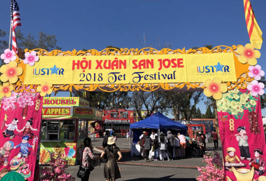 The Tet Festival is being held in San Jose this weekend as part of local Vietnamese New Year celebrations.