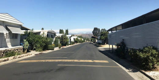Mobile home parks, like this one in Rowland Heights, have seen rents rise as vacancy rates plunge, according to L.A. County officials.
