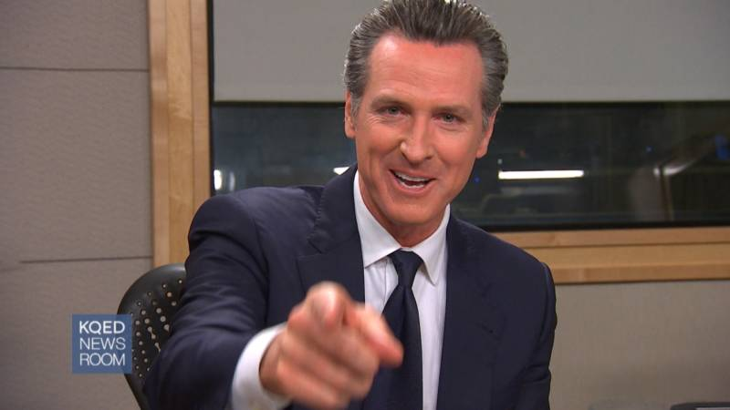 Gavin Newsom Says No Way He's Running for President