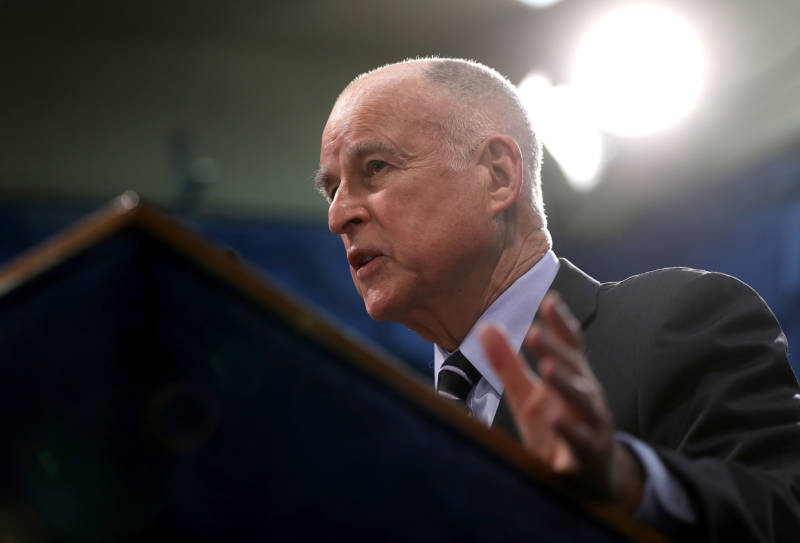 Gov. Jerry Brown backed Proposition 57 as a way to reduce overcrowding in California prisons and reform the state's criminal justice system.