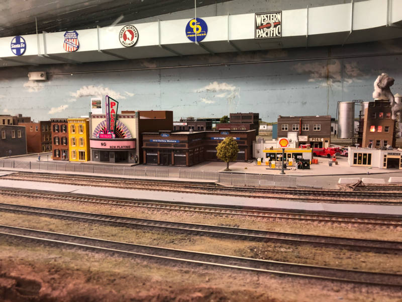 Model trains are one of the many exhibits at the newly renovated Randall Museum.