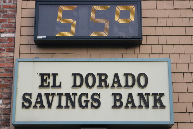 In one scene in the film, Lady Bird and her father Larry enter the El Dorado Savings Bank to figure out how they will pay for college. Filmmaker Greta Gerwig has a personal connection to the bank: she used to babysit one of the bank tellers.