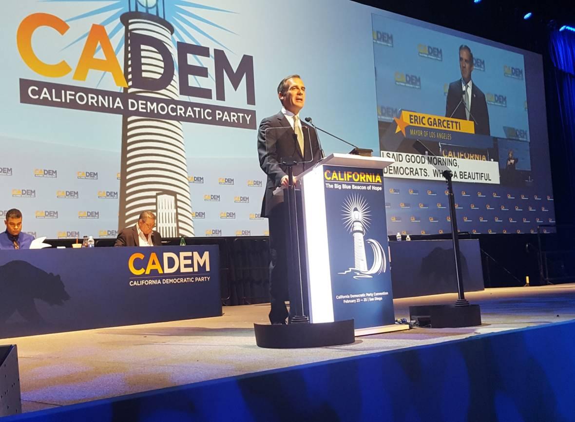 Potential Presidential Contenders Speak at California Democratic Convention