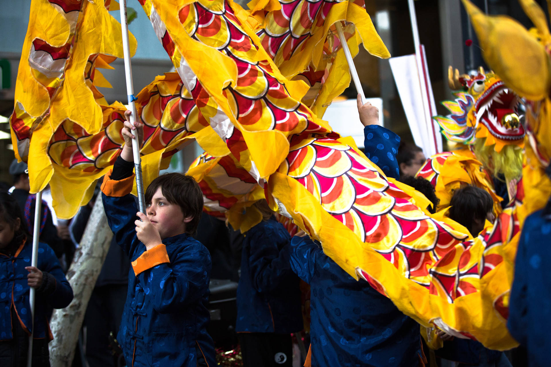 The Lunar New Year Parade kicked off on February 24, 2018 in celebration of the start of a new lunar calendar. The parade has taken place in San Francisco since the 18th century and is the largest celebration of Asian culture outside of Asia. Samantha Shanahan/KQED