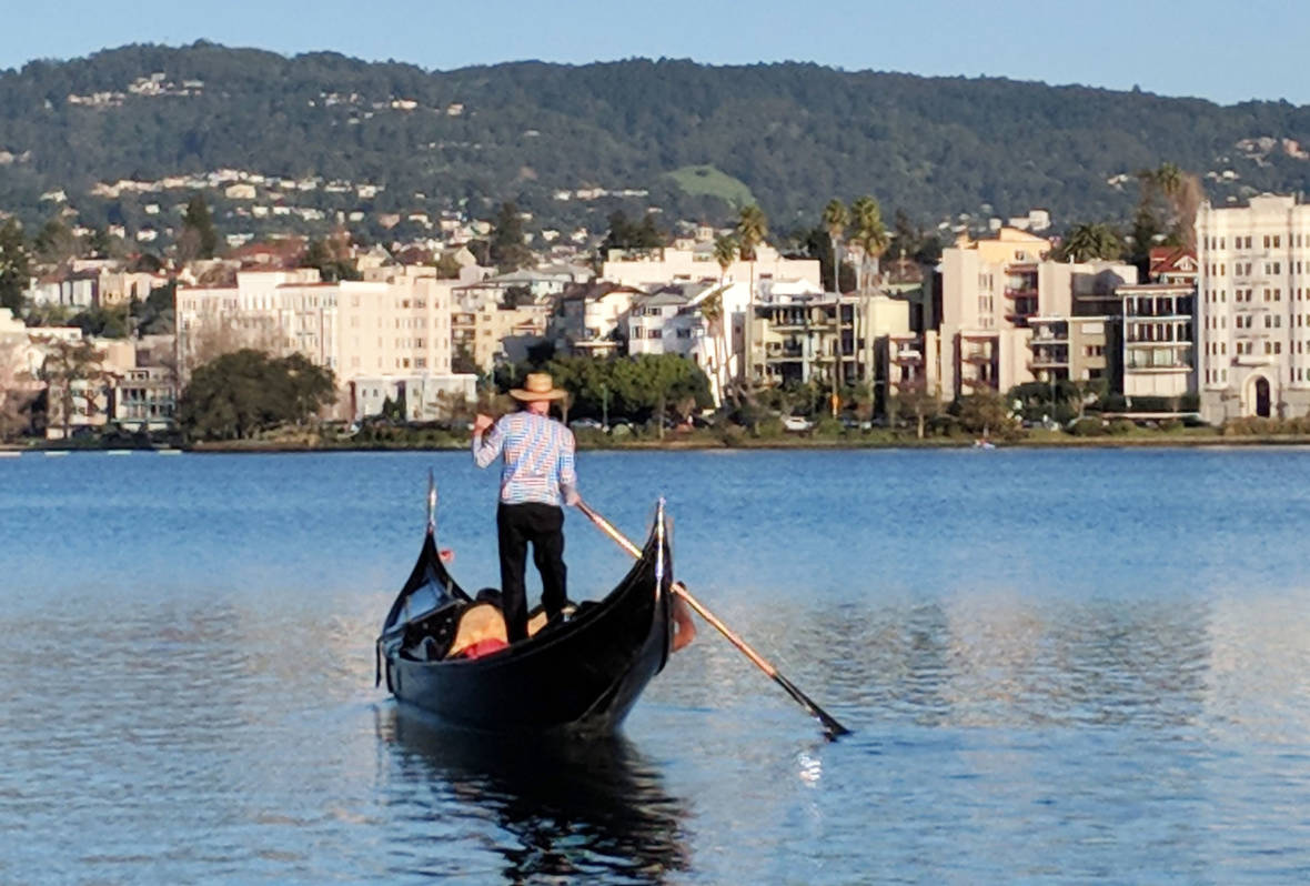 The Romance of Venice -- in Oakland? This Valentine's Day, Take a Gondola