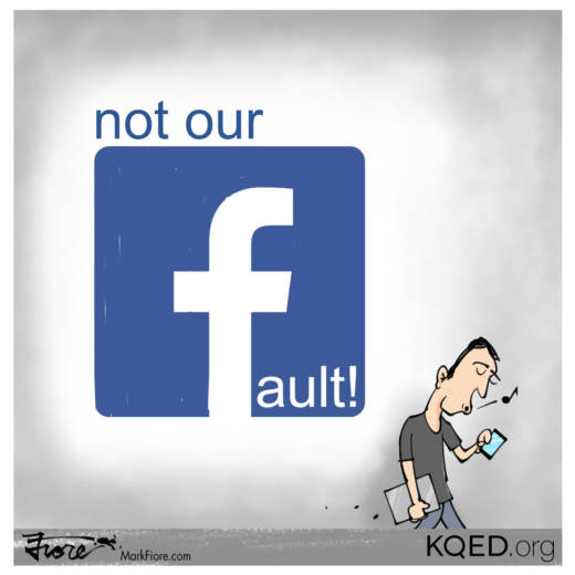Not Our Fault by Mark Fiore