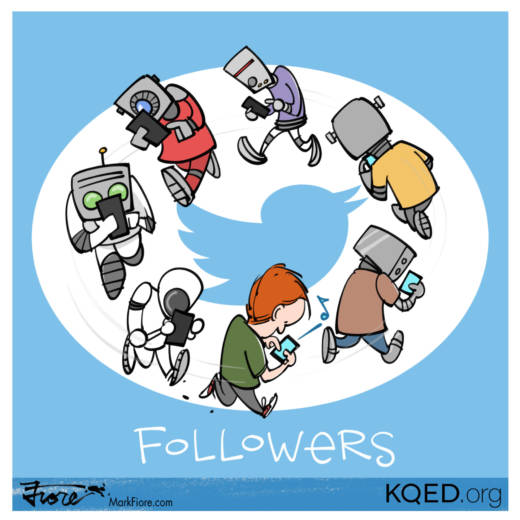 Followers by Mark Fiore