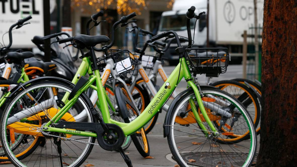 Dockless Bike Firm Pulls Out of Paris After 'Mass Destruction' of Its Cycles