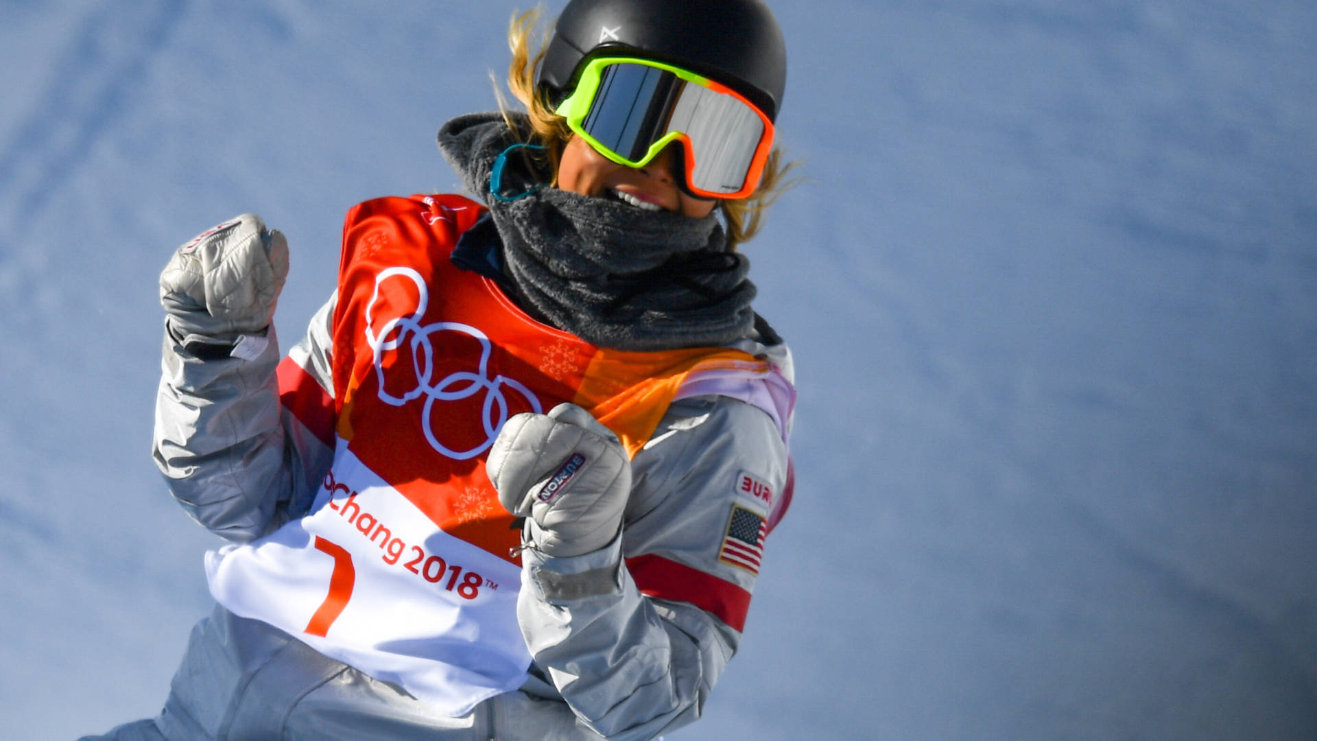 Chloe Kim won the gold medal in the snowboard women's halfpipe final at Phoenix Snow Park in the Winter Olympics in Pyeongchang, South Korea. Ramsey Cardy/Sportsfile via Getty Images