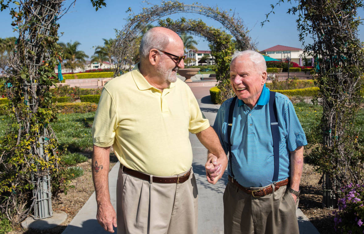 Two Vets in Love: 'If You Came To See The Bride, You're Out Of Luck'