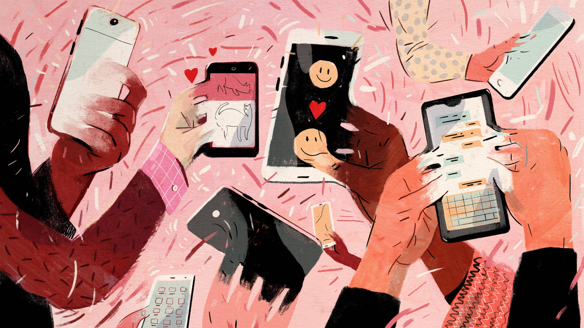 For many people, checking their smartphone can be addicting. Ryan Johnson for NPR