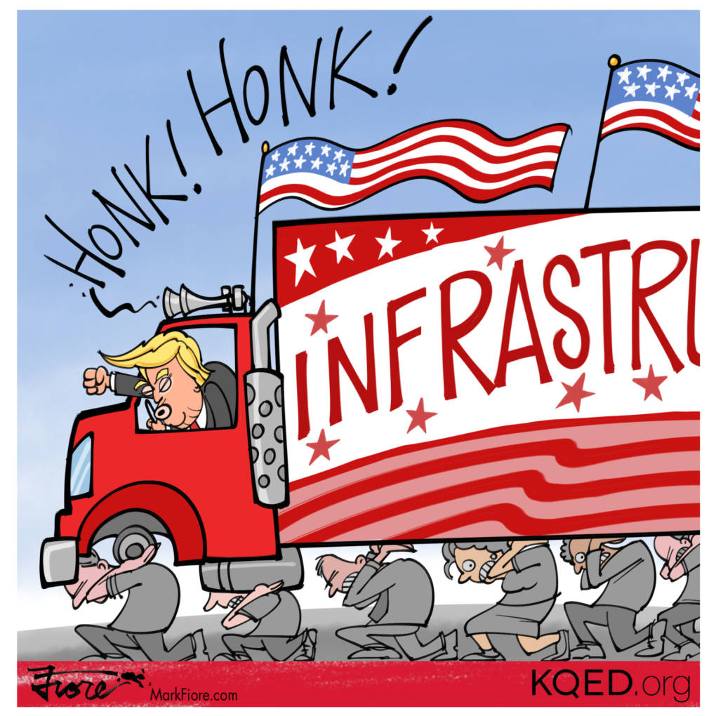 Infrastructure Plan by Mark Fiore