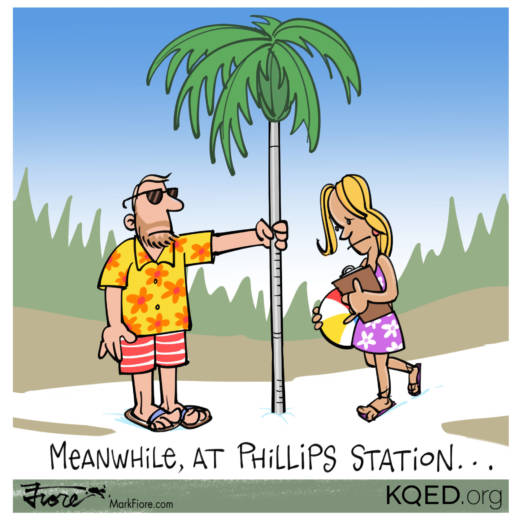 Phillips Station by Mark Fiore