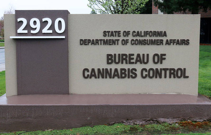 The state Bureau of Cannabis Control is located in Rancho Cordova.