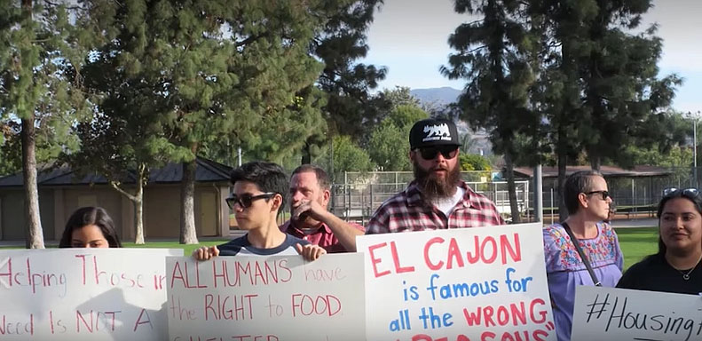 El Cajon Drops Charges Against a Dozen People Arrested for Feeding Homeless